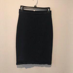 Dark blue demin skirt from Charlotte Russe